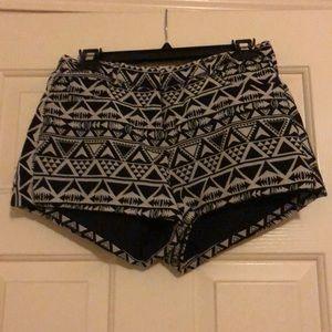 Pattern shorts